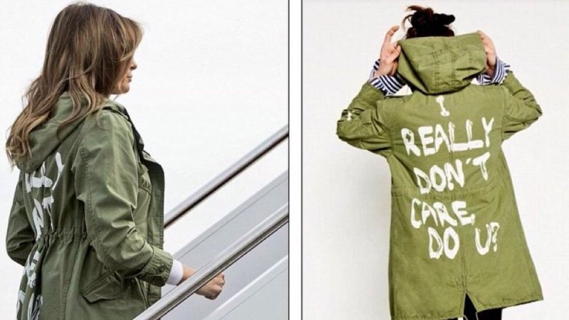 Media In Disbelief Over Melania Wearing 'I Really Don't Care' Jacket During Border Visit: 'I…What…How?'