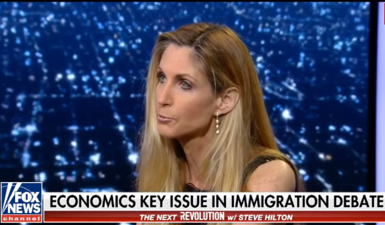 Ann Coulter Goes Full InfoWars, Claims Asylum-Seeking Migrant Children Are Crisis Actors