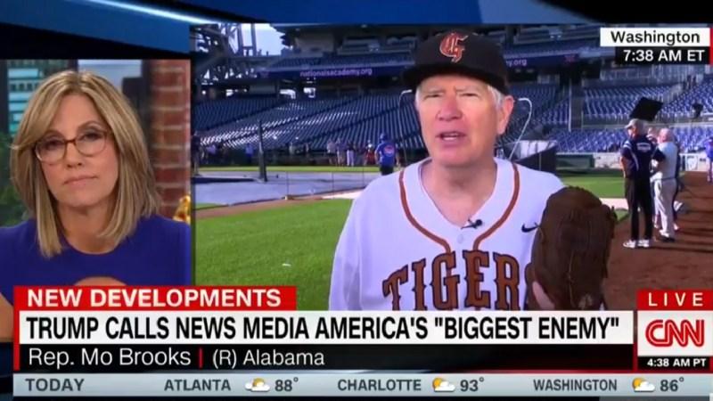 Rep. Mo Brooks Has Trump's Back, Tells CNN He Considers Them A 'Political Foe'