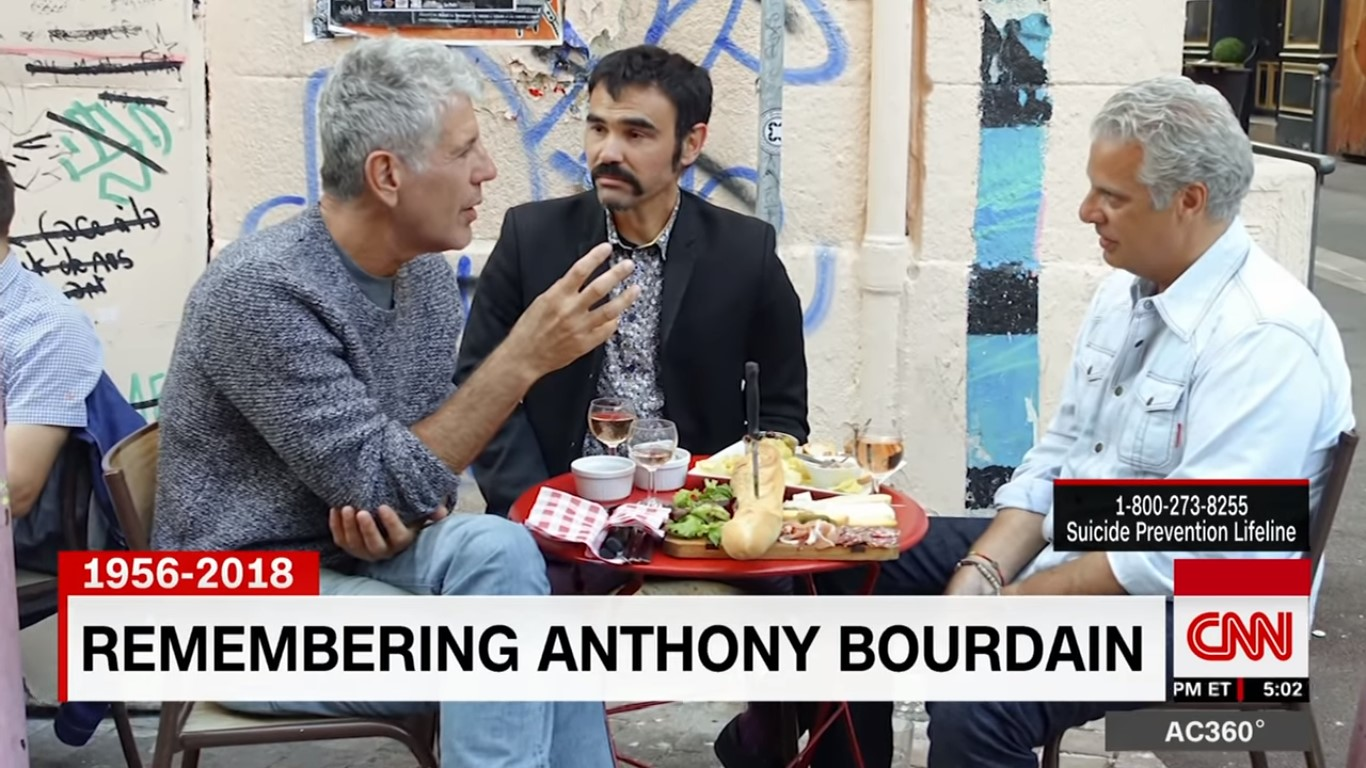 CNN's 'Remembering Anthony Bourdain' Leads Cable News In Demo Friday Night