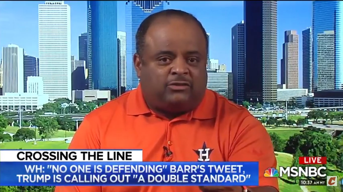 Roland Martin: Trump Calling For Sam Bee To Be Fired Is Irrelevant As He's Not Apologized For 'Vile Things' He's Said