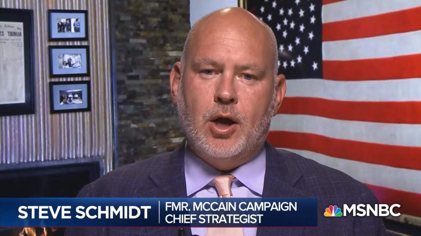 Steve Schmidt Renounces GOP Over Migrant Child Crisis: 'It Is Filled With Feckless Cowards'