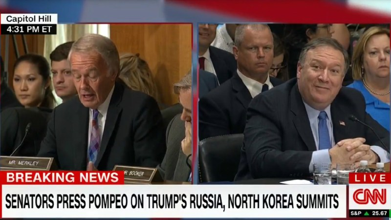Oops! Secretary Of State Mike Pompeo Calls Trump Administration A 'Regime'