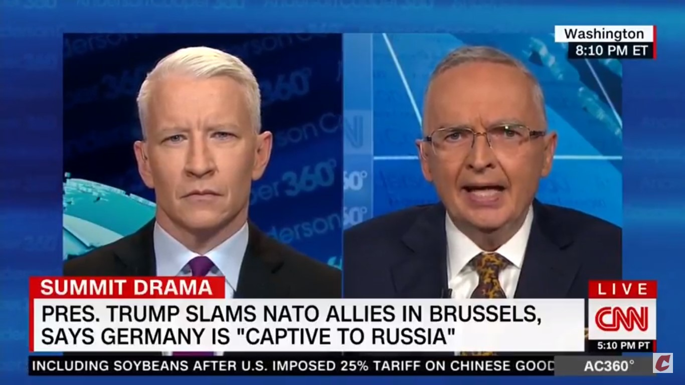 Ex-Fox Analyst Ralph Peters On Trump: 'I Just Think The Russians Have The Goods On This Guy'
