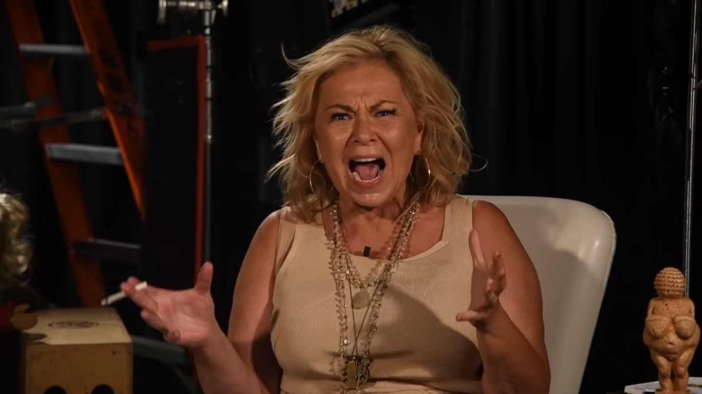 Roseanne Barr Has A Normal One Discussing Valerie Jarrett Tweet: 'I Thought The Bitch Was White!'