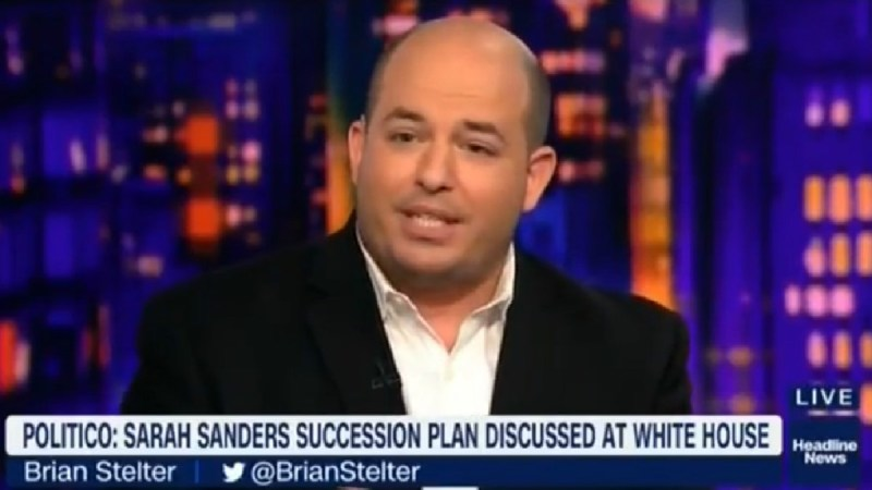CNN's Stelter: 'I Don't Think' Sarah Sanders Will Have Lots Of Opportunities Post-White House