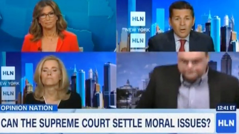 Conservative Talk Host Walks Out During HLN Segment After Panelist Says The Right Wants 'Christian Sharia'