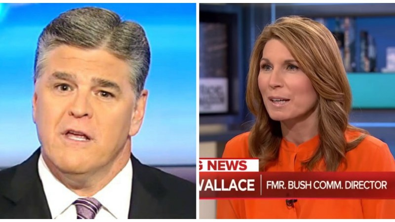 Hannity Most-Watched In Cable News Monday, MSNBC's Nicolle Wallace Leads Time Slot