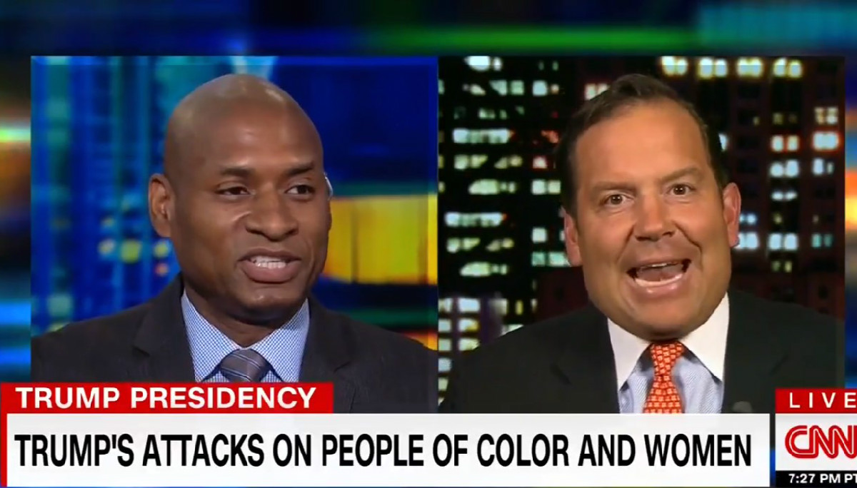 Charles Blow Brawls With CNN's Steve Cortes Over Trump's Racism: 'You Lie All The Time!'