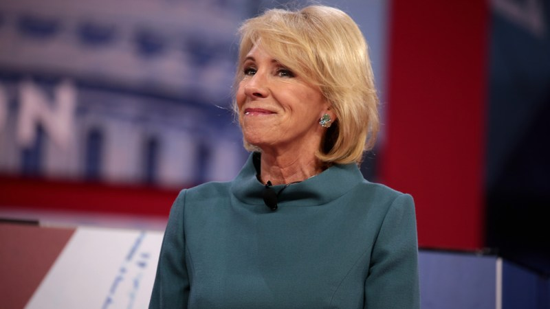 Betsy DeVos Wants States To Buy Guns For Teachers