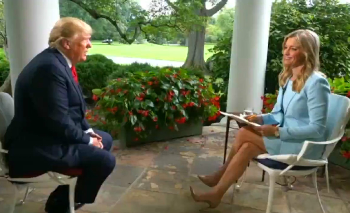 Trump Tells Fox News That '80 Percent' Of The Media Is The 'Enemy Of The People'