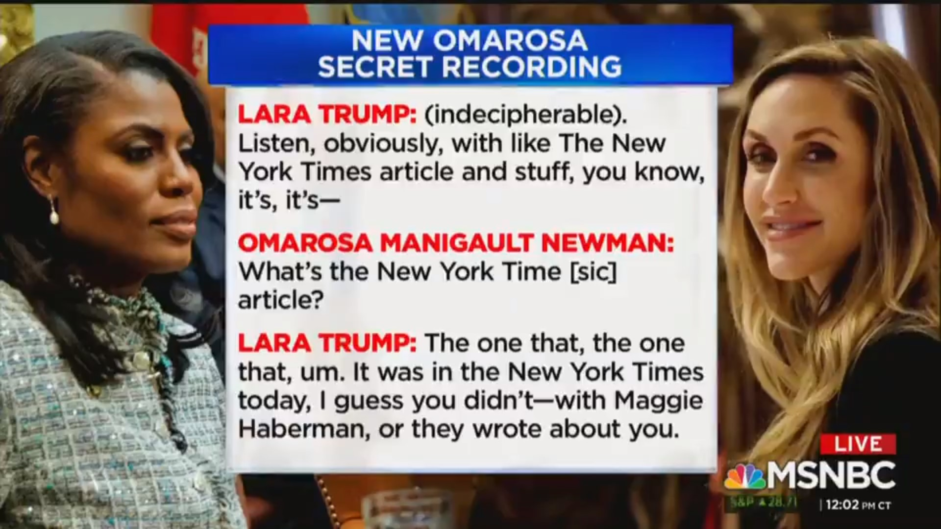 Lara Trump Reacts To Omarosa's Latest Tape Release: 'I Hope It's All Worth It For You'
