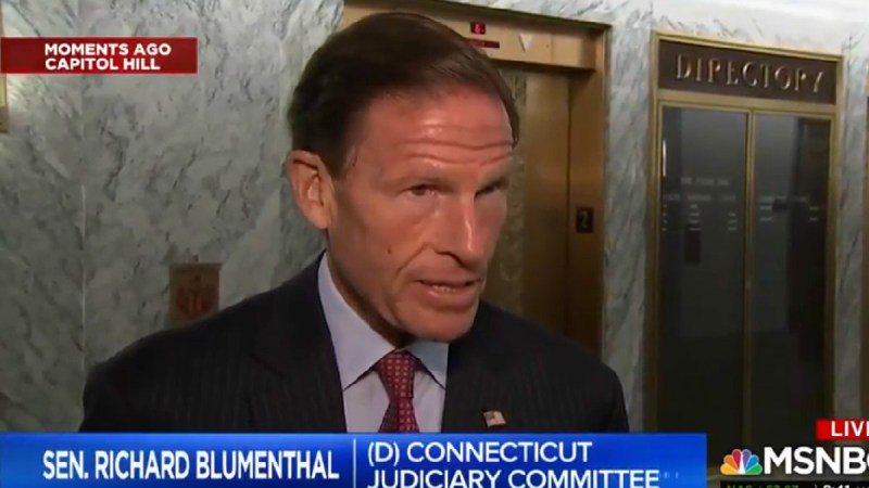 Dem Senator On Trump Calling For Sessions To End Mueller Probe: 'Intent To Obstruct Justice'