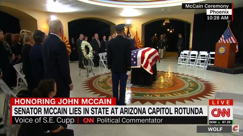 S.E. Cupp Gets Emotional After Meghan McCain Breaks Down At Ceremony: 'My Heart Is Broken For Her'