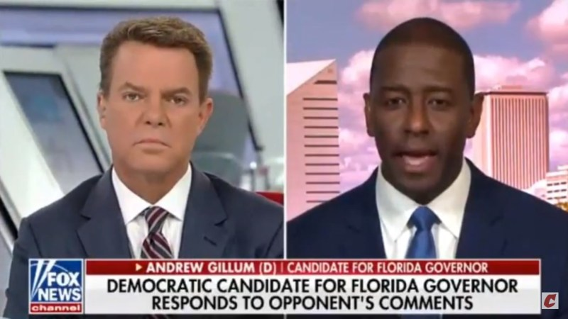 Andrew Gillum: 'I'm Not Going To Get Down In The Gutter With DeSantis And Trump'