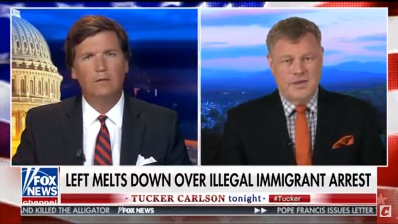 Mark Steyn Offers To 'Rent' Tucker Carlson A 'Pregnant Illegal Alien'