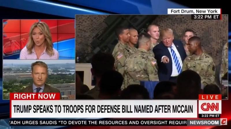 Trump Doesn't Mention John McCain At All During Speech For Defense Bill Named After Senator