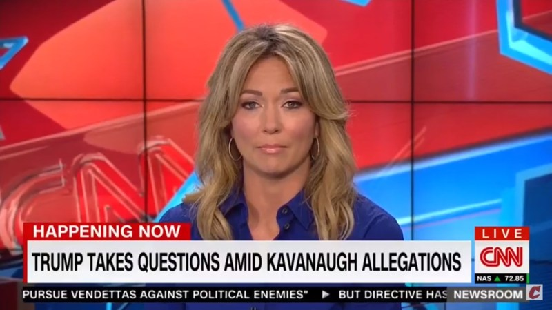 CNN's Brooke Baldwin To Trump: 'Refer To Her By Her Name…She Is Christine Blasey Ford'