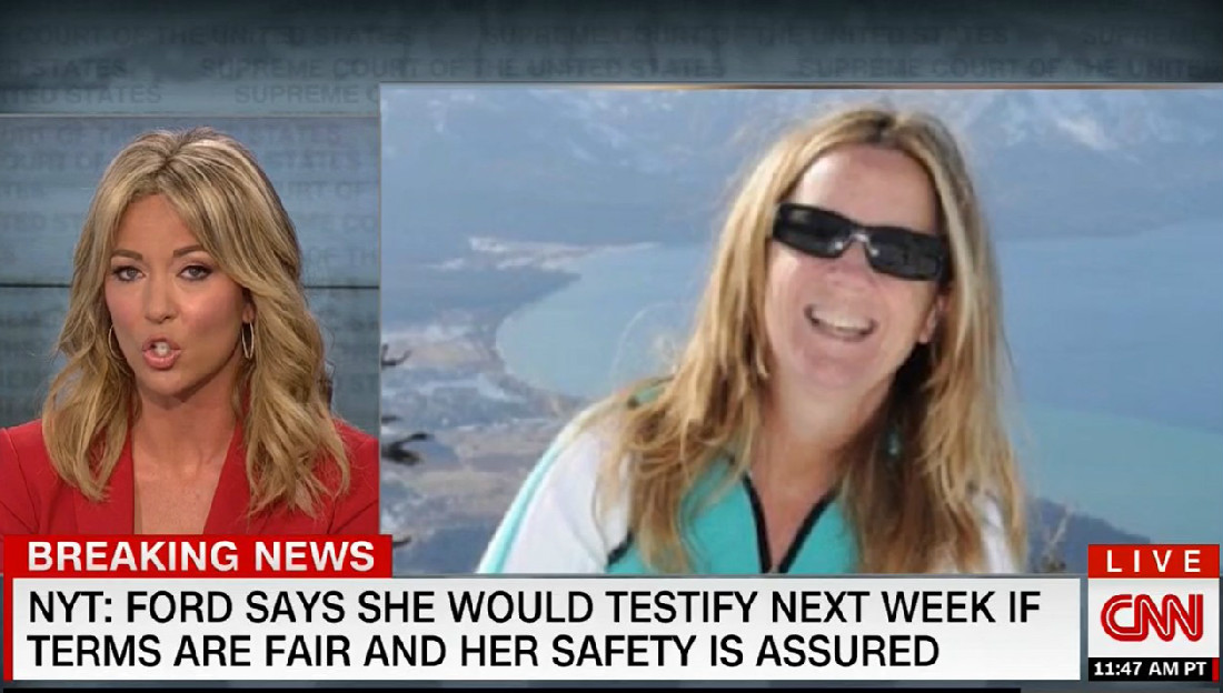 Christine Blasey Ford Says She'll Testify Next Week If Terms 'Are Fair' And Her Safety Assured