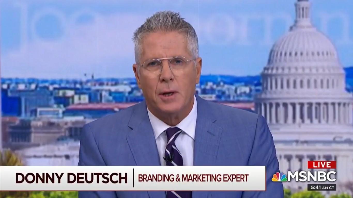 Donny Deutsch Tells Morning Joe: GOP Confirming Kavanaugh Would Be A 'Suicidal Mission'
