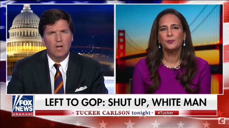 Tucker Carlson Laments 'Race Hatred' Towards 'Old White Men' During Kavanaugh Hearing