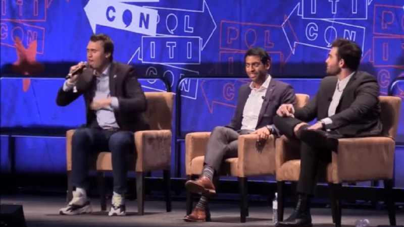 WATCH: Charlie Kirk Fills Up Diaper After Cenk Uygur Heckles Him At Politicon