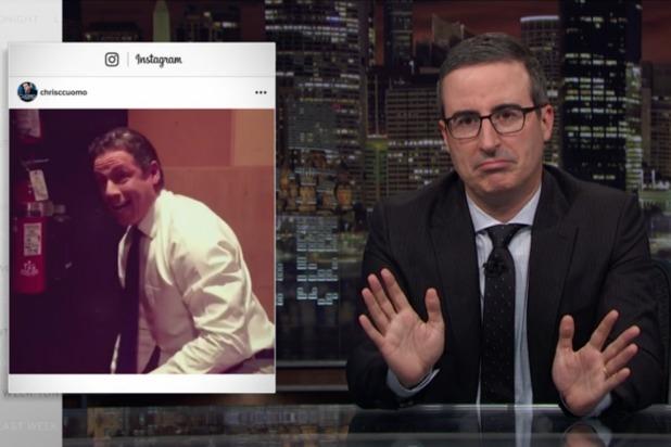 John Oliver Mocks Chris Cuomo's Instagram: A 'Thirstpit' Desperate For Approval