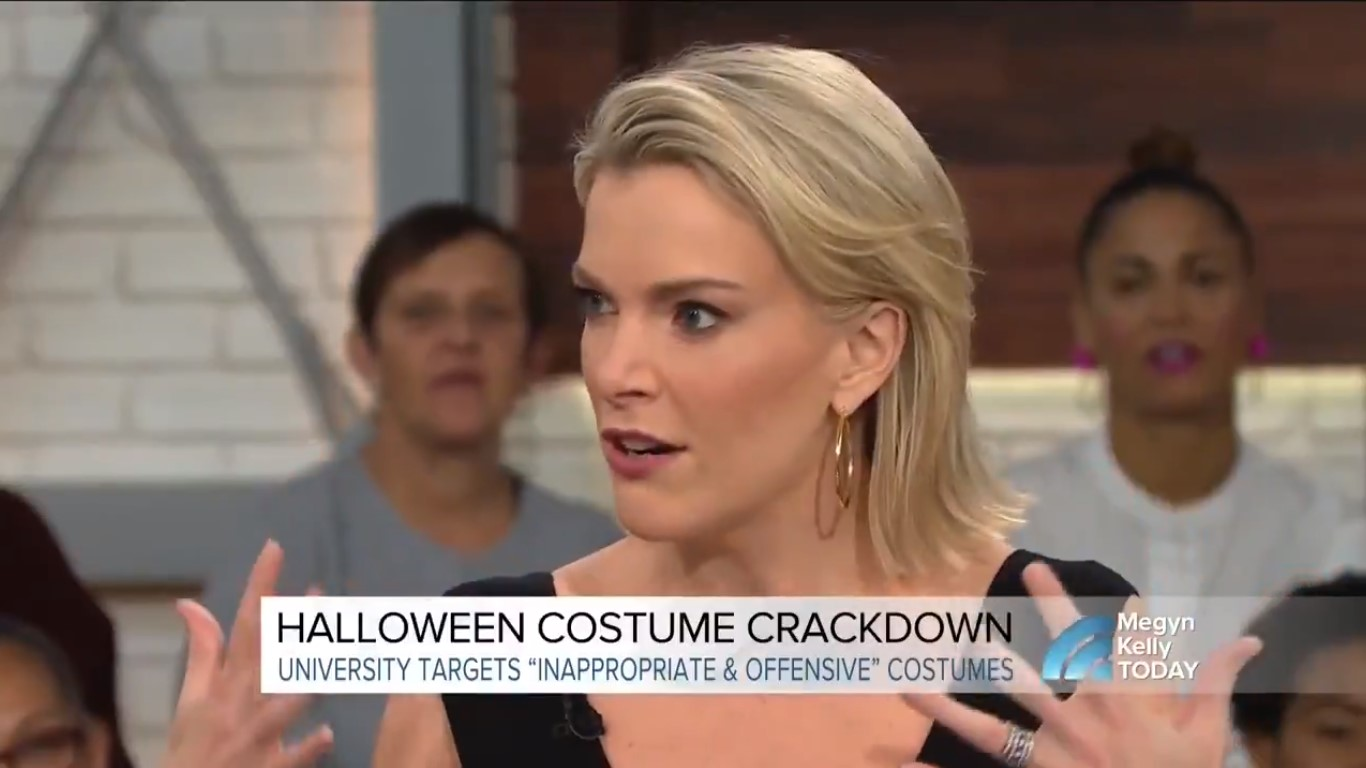 Megyn Kelly Doesn't Get Why White People Wearing Blackface Is Offensive: 'What Is Racist?'