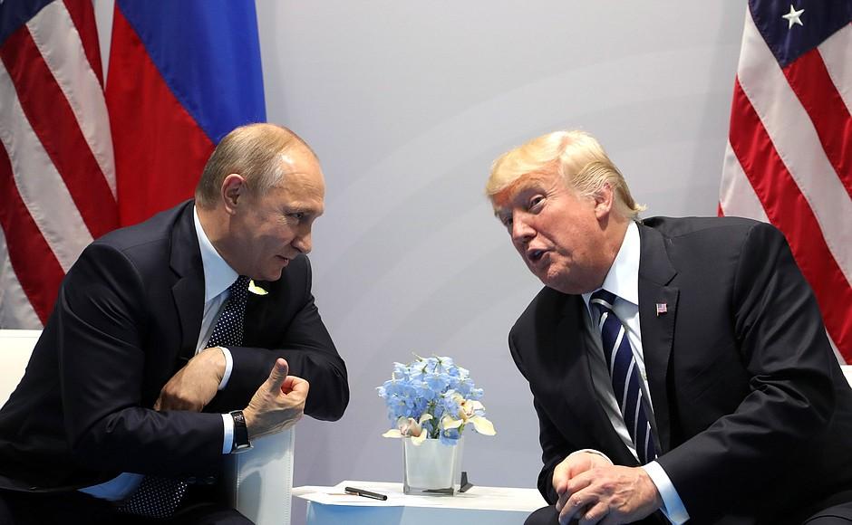 Trump Invites Vladimir Putin To Washington