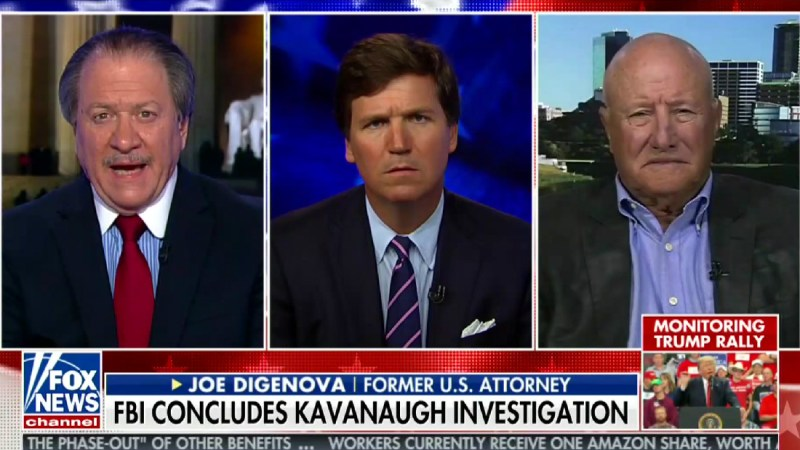 Joe diGenova: Democrats Sound Like 'The Cries Of An Injured Child, Not Unlike Those' Of Christine Ford