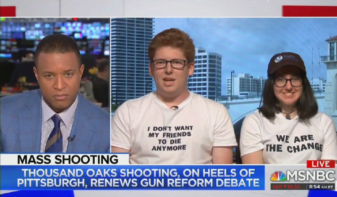WATCH: MSNBC's Craig Melvin Confuses Guest With Parkland Survivor Brother, Awkwardness Ensues