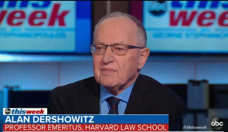 Alan Dershowitz: Report From Mueller 'Is Going To Be Devastating' To Trump