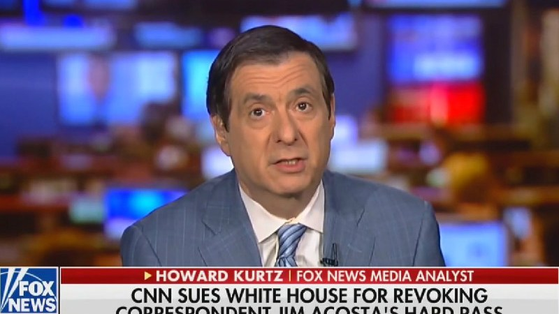 Fox Media Analyst Calls CNN's White House Lawsuit A PR Stunt After Fox News Backs It