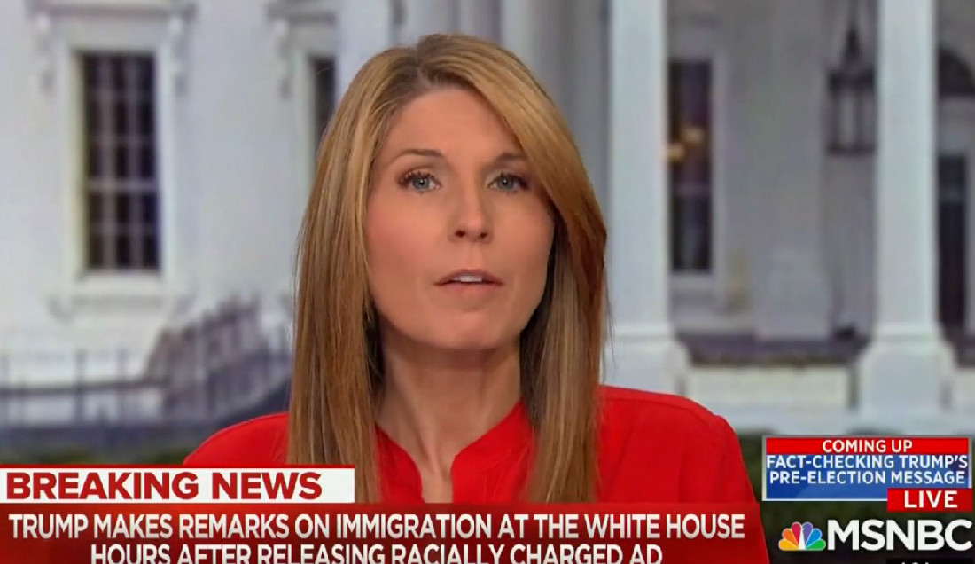 WATCH: Nicolle Wallace Explains Why MSNBC Won't Carry Trump's Immigration Speech Live