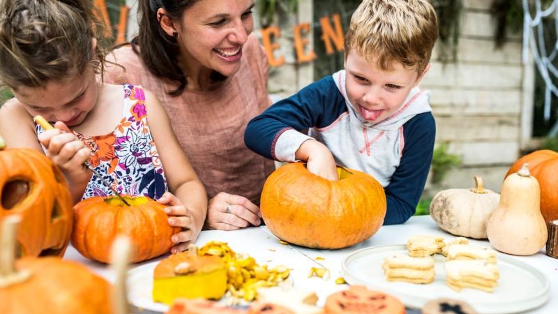 Halloween food festival for children