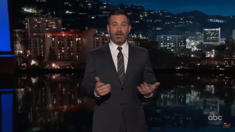 Jimmy Kimmel Blasts Trump Over California Fire Response: 'He Didn't Even Throw Us A Roll Of Paper Towels'