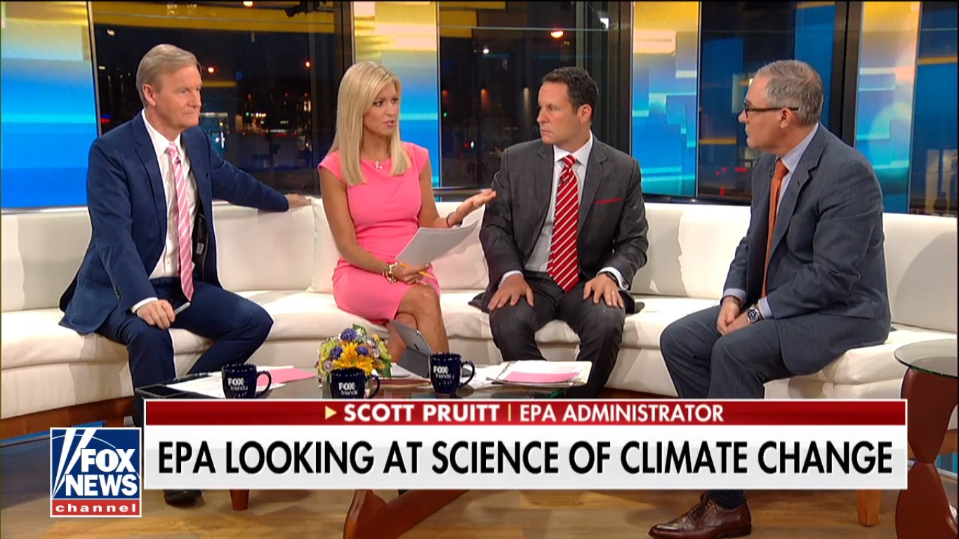 Fox News Says It's Addressing 'Fox & Friends' Colluding With Pruitt. We've Heard That Before