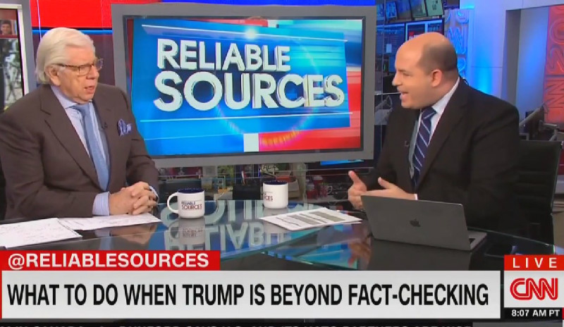 CNN's Brian Stelter: 'I'm Not Sure We Should Broadcast' Trump's Nonsensical Ramblings Anymore