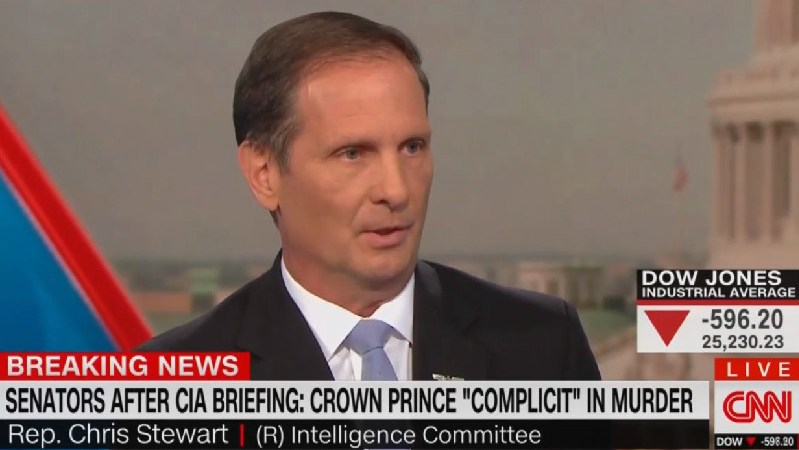 GOP Congressman Downplays Khashoggi's Murder: 'Journalists Disappear All Over The Country'