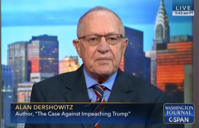 Alan Dershowitz Uses TV Appearance To Whine That He's Not Getting Booked On TV Enough
