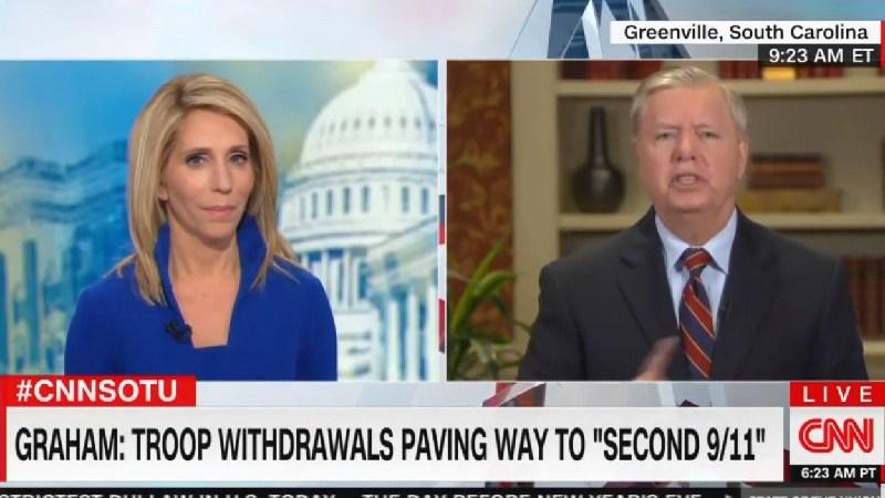 Lindsey Graham Snaps At CNN's Dana Bash Over Iraq: 'That's A Bunch Of Bullshit!'