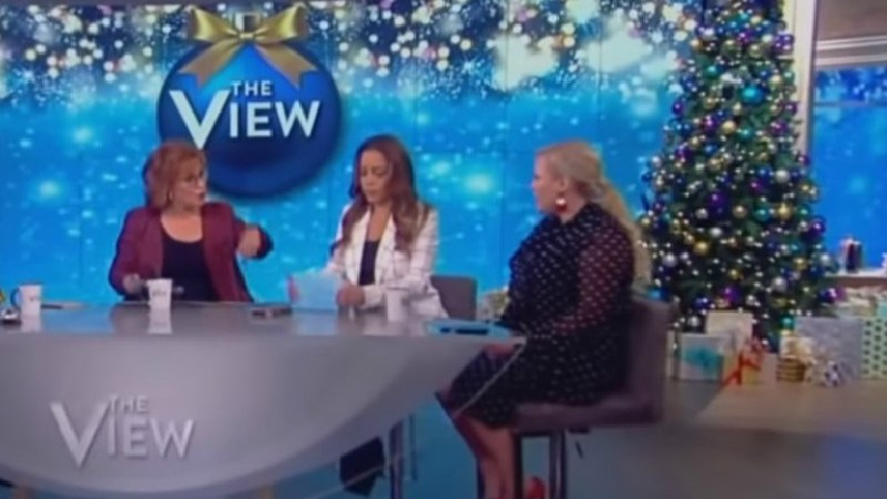 Joy Behar Calls Meghan McCain An 'Entitled Bitch,' Threatens To Quit After On-Air Spat