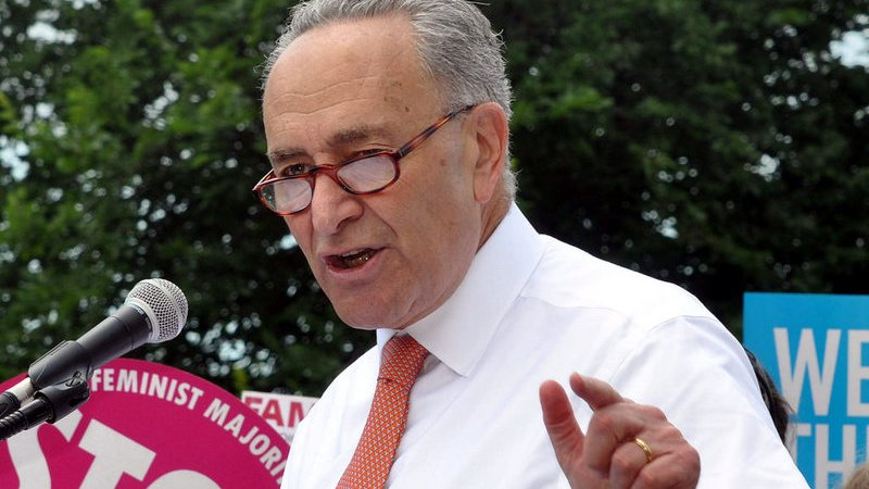 Chuck Schumer: Trump's 'Temper Tantrum' About The Wall Could Lead To A Government Shutdown