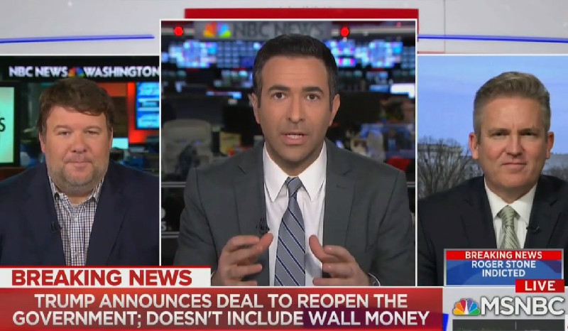 MSNBC's Ari Melber On Shutdown Deal: We Started With 'A Wall, We Ended With A Giant Cave'