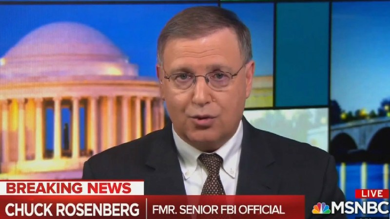 Chuck Rosenberg Tells Maddow That 'Core' Of BuzzFeed's Cohen Story 'Is Accurate'