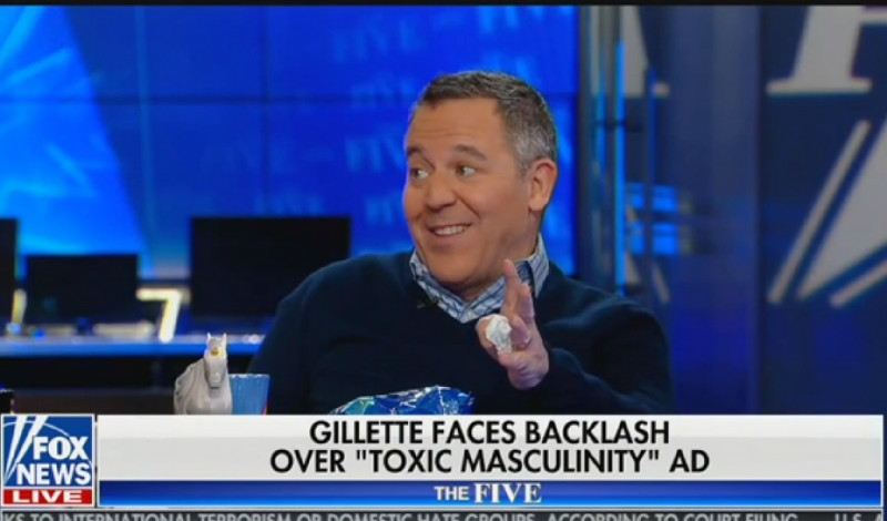 Fox's Greg Gutfeld Says Gillette's 'Toxic Masculinity' Commercial Disrespects The Troops