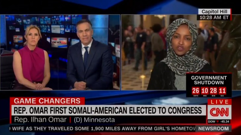 Ilhan Omar Didn't Actually Claim Lindsey Graham Is Blackmailed Because He's Secretly Gay