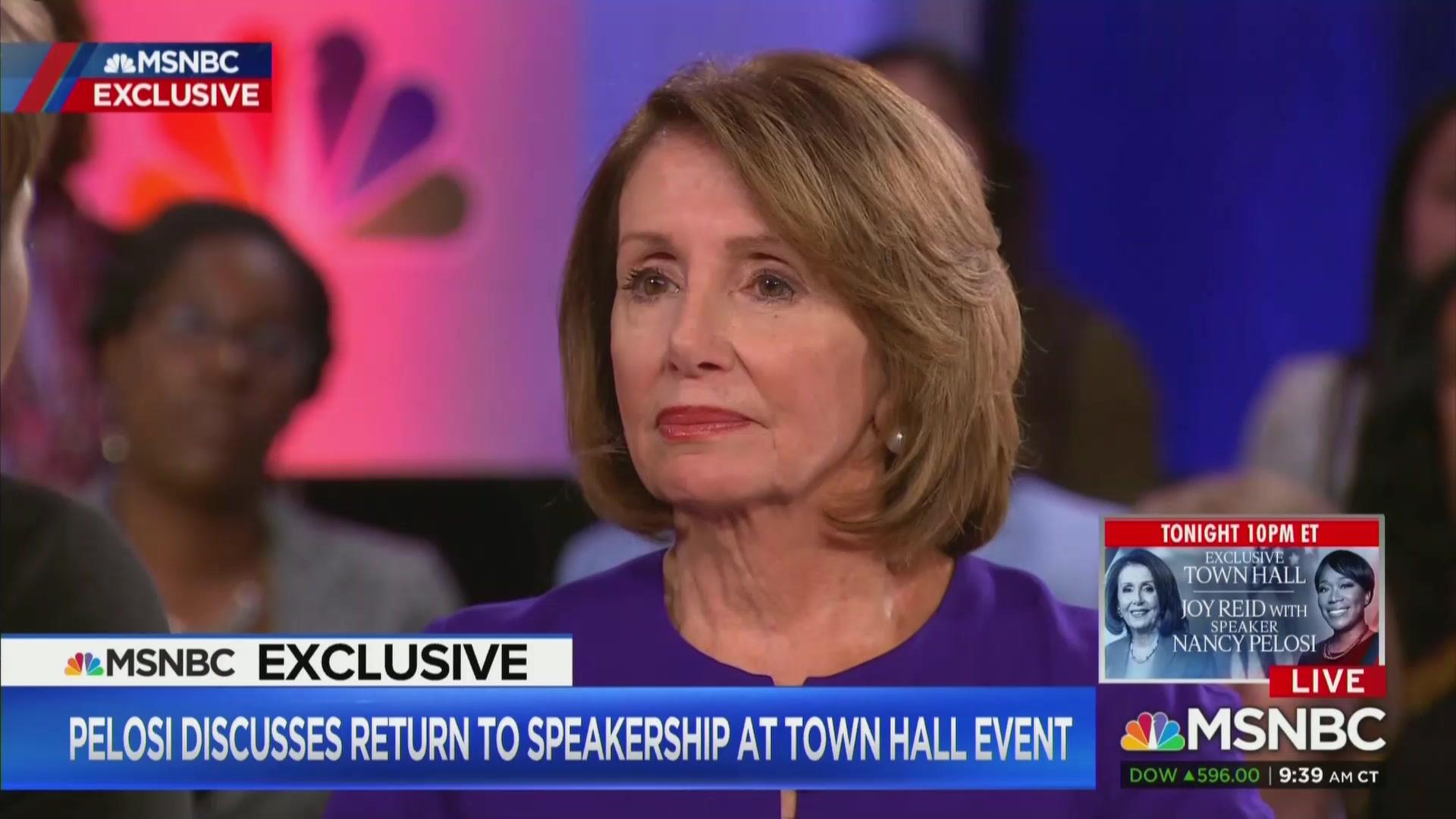 Nancy Pelosi: Rashida Tlaib's Impeachment Remarks 'Nothing Worse Than' Trump Has Said
