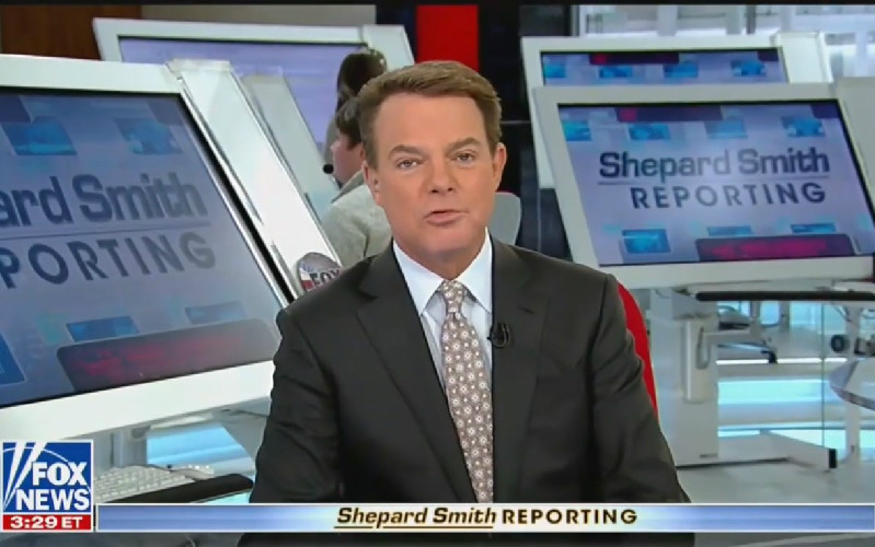 Did Shep Smith Just Take A Swing At His Fox News Colleagues For Bad-Mouthing New York?