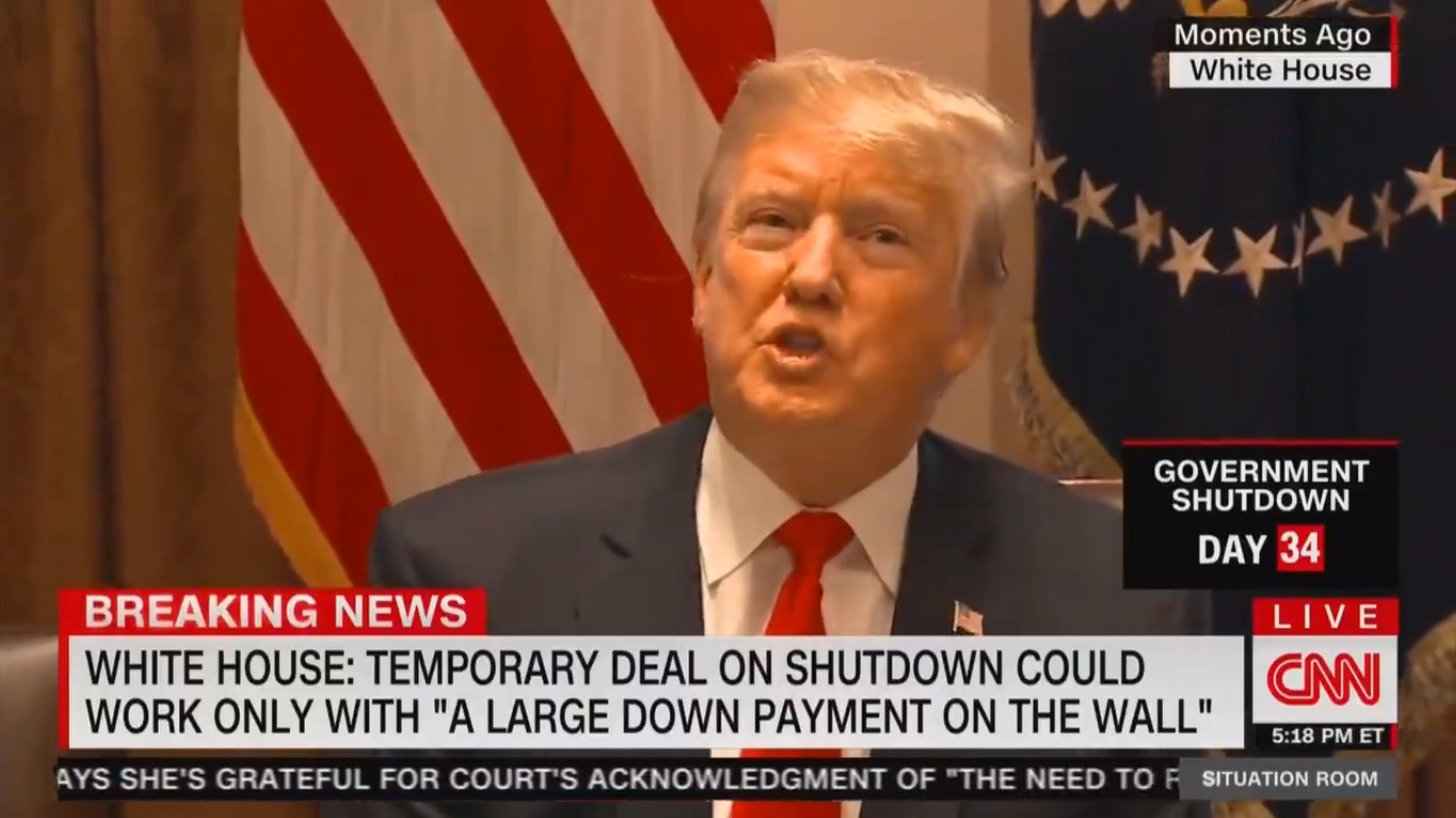 Trump Apparently Believes Grocery Stores Will Give You Free Food If You Aren't Getting Paid